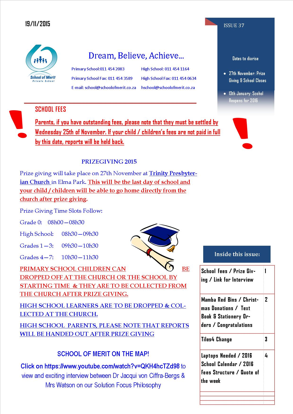 Newsletter 37 Page 1