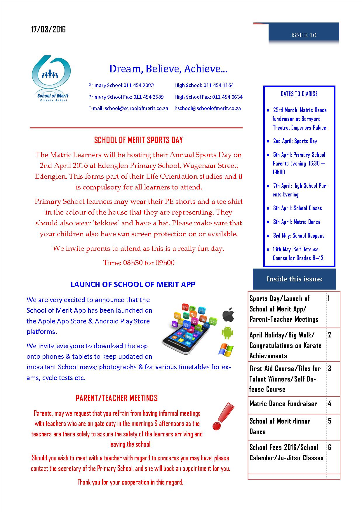Newsletter 10 pg 1