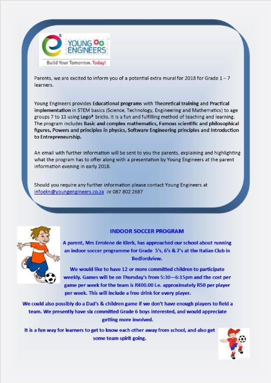 Page 5 Newsletter 35 - 2017