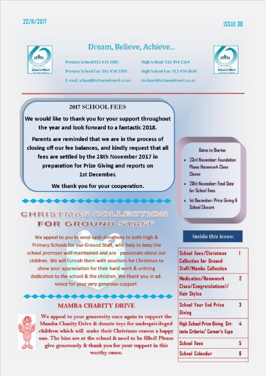 Page1 Newsletter 38 - 2017