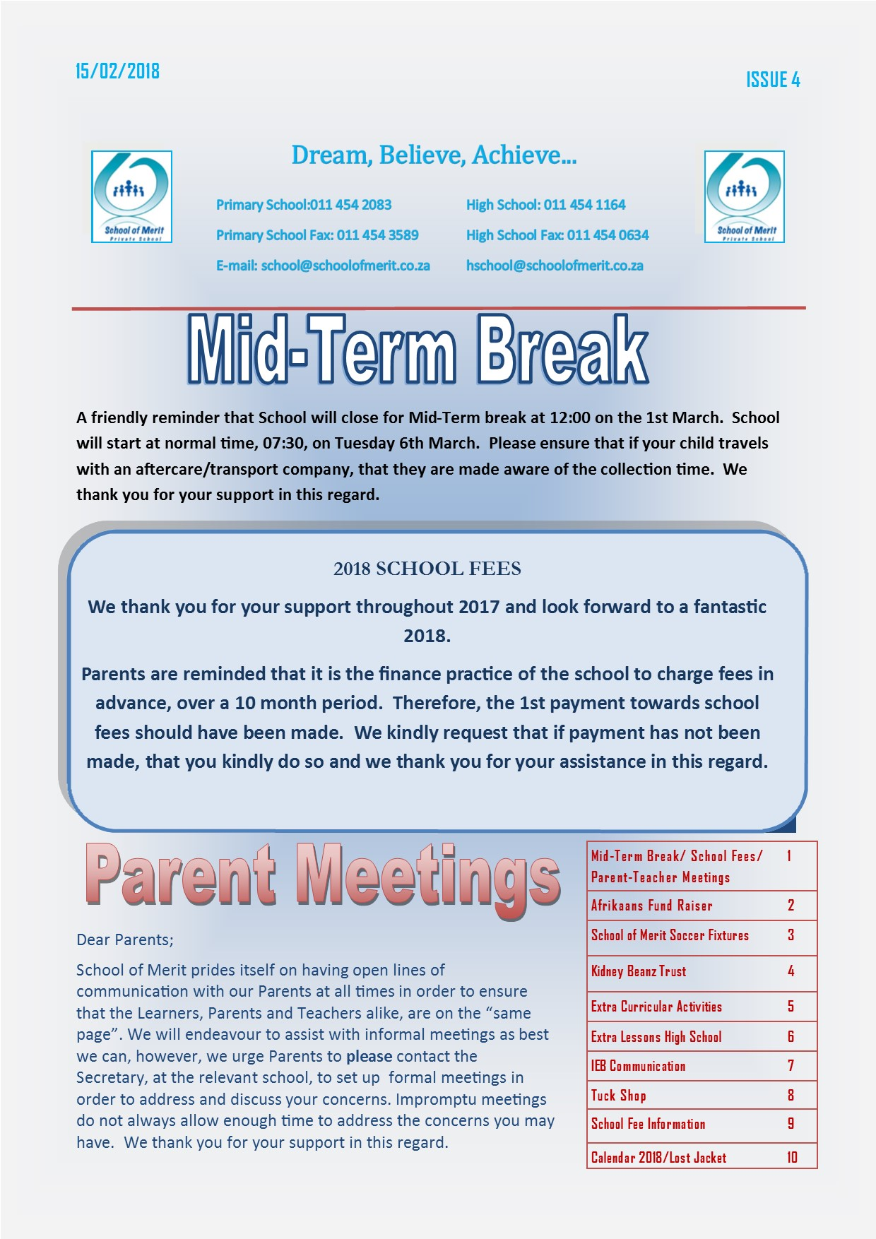 Newsletter 04 2018 page1