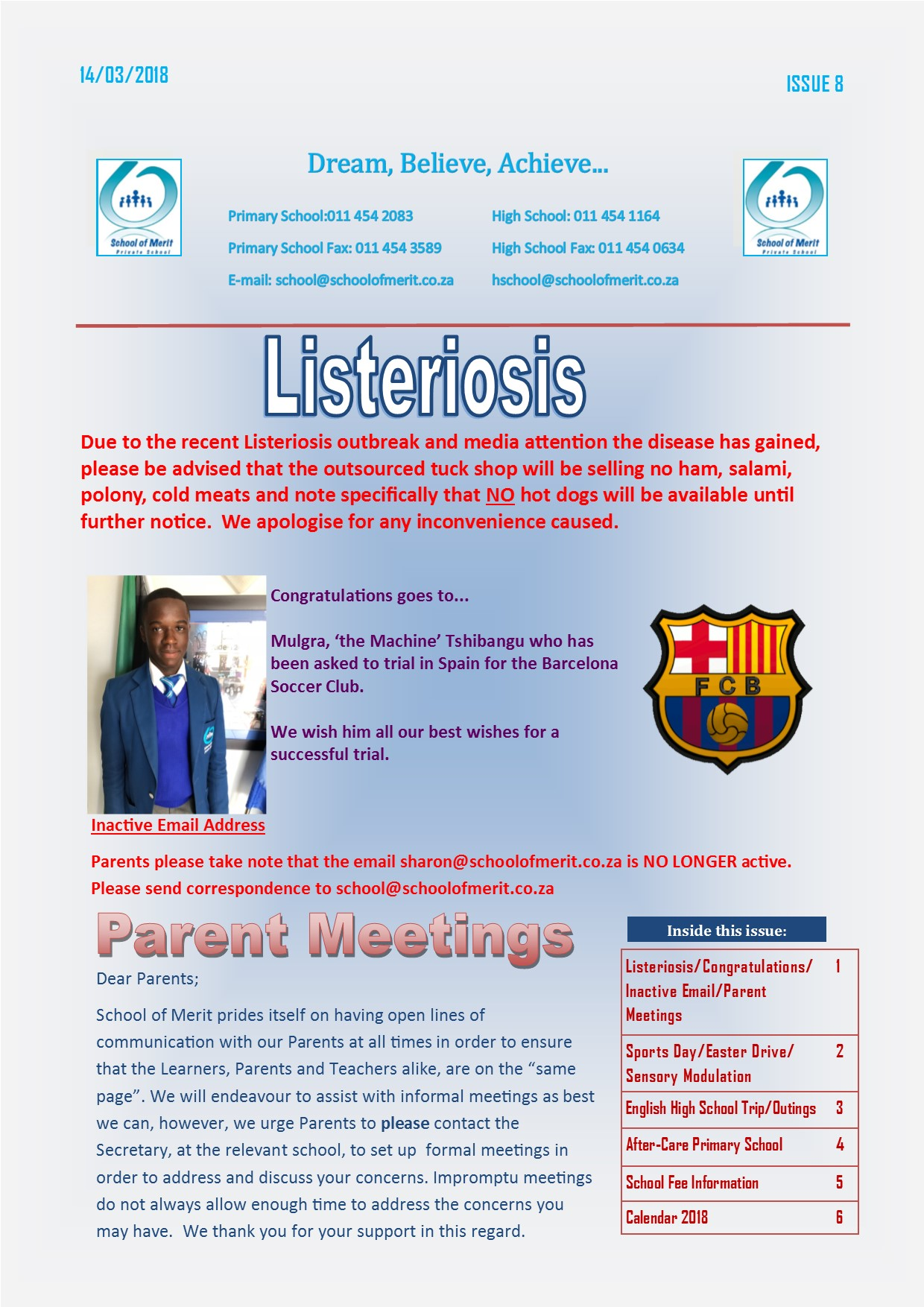 Newsletter 08 2018page1