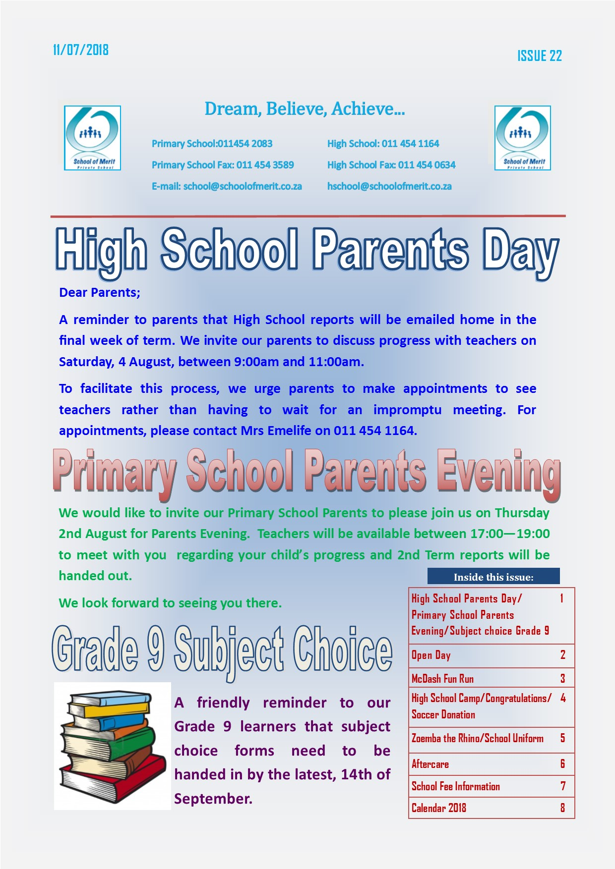 Newsletter 22 2018page1