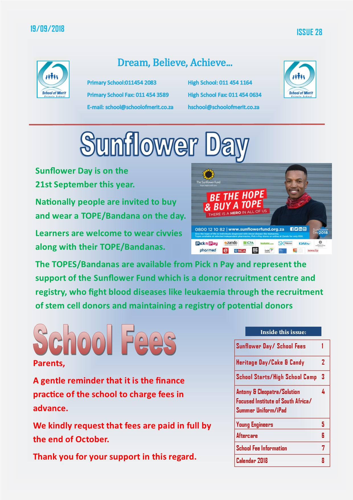 Newsletter 28 2018page1