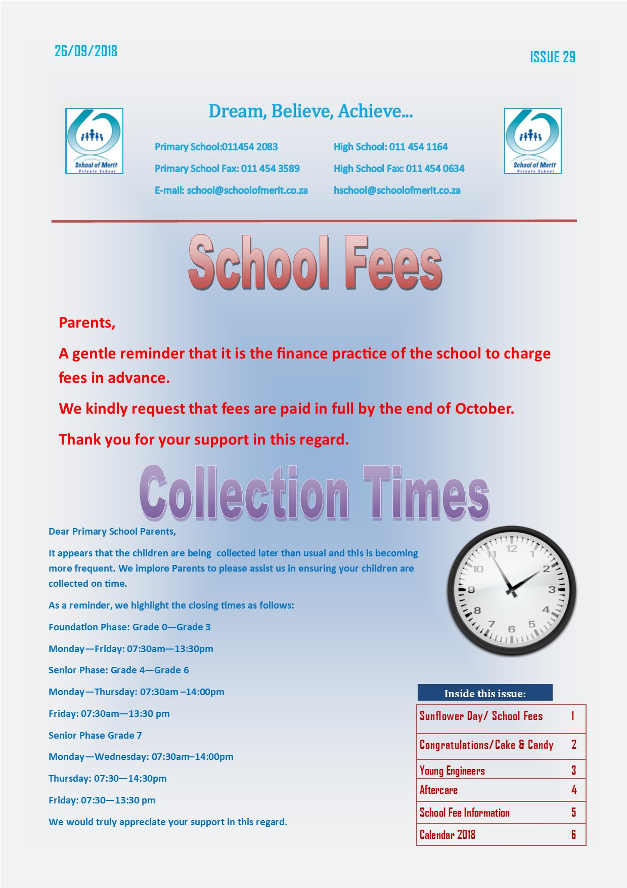 Newsletter 29 2018page1
