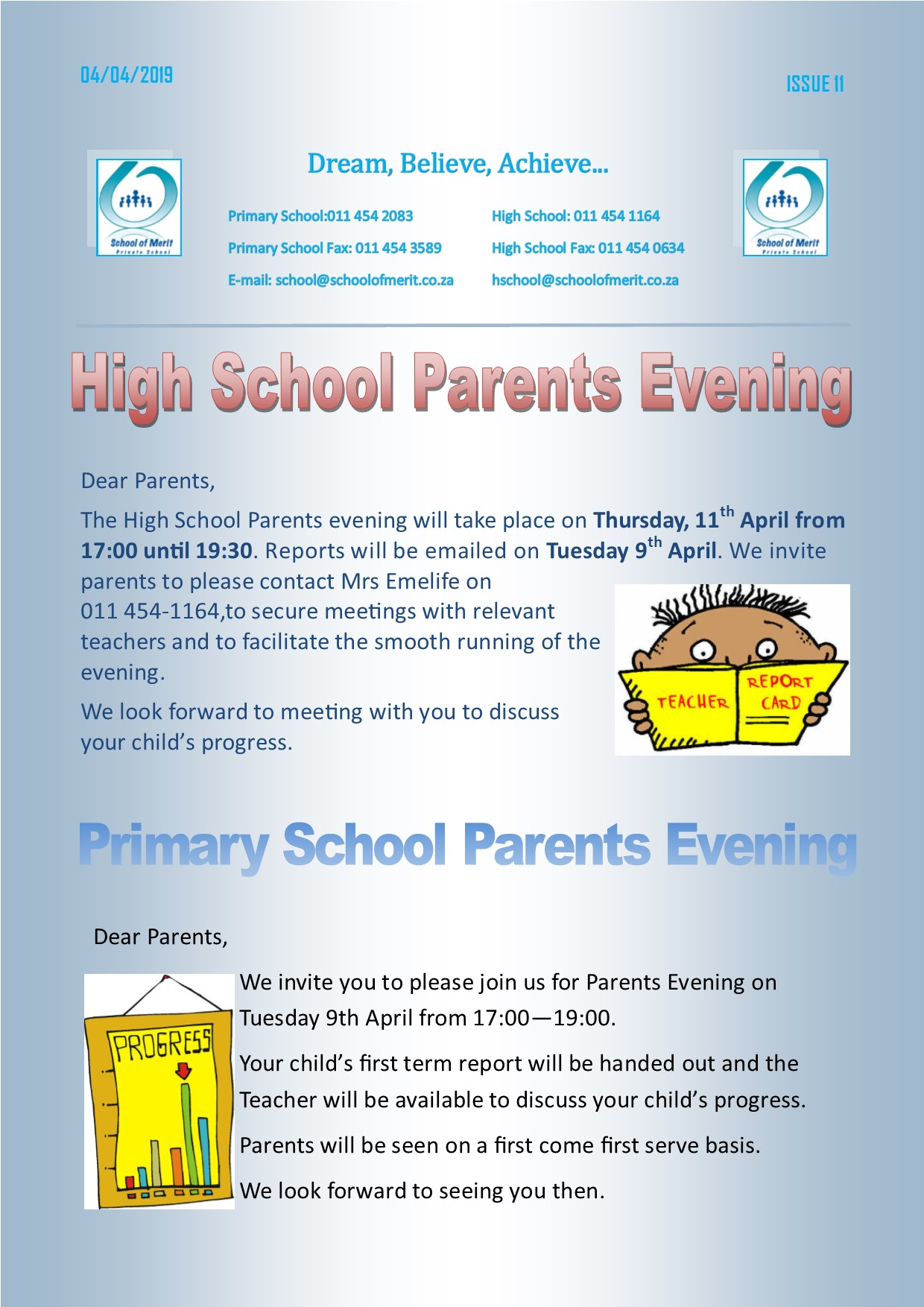 Newsletter 11 2019page1